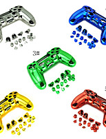 Housing Controller Game Shell Polished Glossy Plating Case Part Skin Cover Controller for PS4 Controller