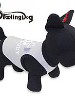 Cool Weightlifting Pattern Cotton Vest for Dogs (Assorted Colors Assorted Sizes)