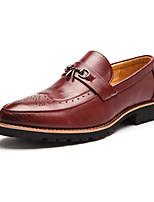Masculino Mocassins e Slip-Ons Inovador Sapatos formais Primavera Verão Outono Inverno Microfibra Casual Festas & Noite Mocassim Rasteiro