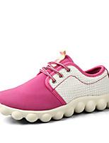 Zapatos de mujer - Tacón Bajo - Punta Redonda - Sneakers a la Moda - Exterior / Casual / Deporte - Ante Sintético - Azul / Rosa / Morado