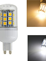 JMTG9/E14/E27 4W 420lm 30x5050SMD LED Warm White or White Light Corn Bulb(AC220-240V)