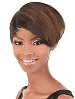 Short Hair Wigs White Women European Synthetic Black Women Wigs Short Wigs