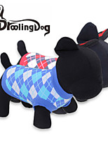 DroolingDog® Lovely Square Pattern Cotton Vest for Dogs (Assorted  Sizes Colors)