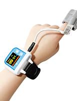 2015 nueva fda oximetro oxímetro pulsioxímetro de muñeca ce oxígeno en la sangre de color del monitor de sonda oled adultos