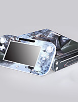 Wii U consoler autocollant de protection de la couverture autocollant de contrôleur de la peau