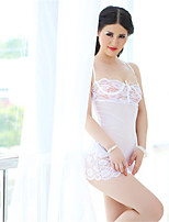 Women's Organza Chemises & Gowns/Lace Lingerie/Ultra Sexy Backless Nightwear
