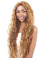 cheveux bouclés perruques femmes blanches européennes femmes noires synthétiques Perruques