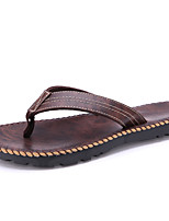 Men's Shoes Outdoor / Casual  Flip-Flops Brown / Khaki