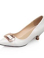 Women's Shoes Faux  Low Heel Pointed Toe/Closed Toe Pumps/Heels