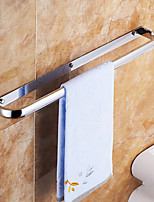 Towel Bars with Hooks,Contemporary Chrome Finish one Bar Active Stainless Steel,Bathroom Accessory