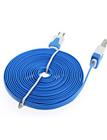 3M Flat Micro USB Data Charger Cable