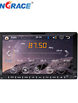 Rungrace 7-inch 2 Din TFT Screen In-Dash Car DVD Player With Bluetooth,Navigation-Ready GPS,RDS, ATV, RL-202WGAR02