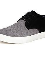 Men's Shoes Outdoor / Office & Career / Casual Suede Fashion Sneakers Brown / Gray