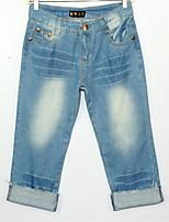 Women's Casual 3/4 Pants (Denim)