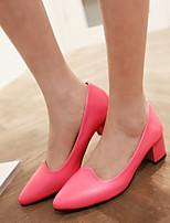 Women's Shoes  Stiletto Heel Heels Pumps/Heels Office & Career/Dress Green/Pink/Red/Beige