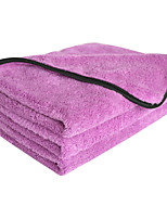 Sinland Microfiber Car Cleaning Cloths Plush Thick Car Waxing Polishing Towels 16 Inch X 24 Inch 380gsm 3 Pack