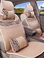 fibra de viscosa verano 10 PC fijaron todas las estaciones de asiento de coche ajuste universal en general cubre asiento de protección