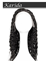 14-26 inch Deep Wave Brazilian Remy Full Lace Front Wigs