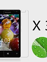 (3 pcs) haute définition protecteur d'écran pour flim lumia 435 microsoft