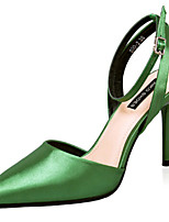 Women's Shoes Stiletto Heel Pointed Toe Pumps/Heels Dress Black/Green/Pink/Purple/Gray/Gold