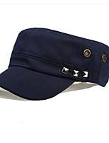 Vintage Navy Sailor Rivets Cotton Military Hat