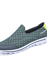 Men's Shoes Casual/Travel Fashion Fabric Breathable Mesh Shoes Blue/Green/Black