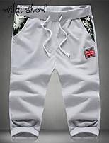 Milaishow Men's Casual Belt Pant