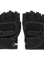 Cycling Gloves Fingerless 1520201 Fashion Innovative Sports Fitness Ottoman Half-finger Gloves - Black (Size M L XL)