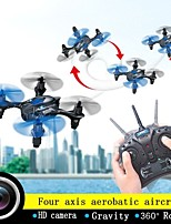 JRC JJ800 Drone 2.4G 4ch 6 Axis Gyro RC Quadcopter 360 Degree Eversion with Camera/Gravity Sensor