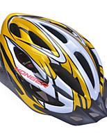 Capacete ( Como na Imagem , PC/Fibra de Carbono + EPS ) - Montanha/Estrada/Esportes - Unisexo 20 AberturasCiclismo/Ciclismo de