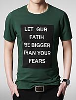 2015 Quality Cotton Men's Short Sleeve T-Shirt printing Hot Sell Hip Hop