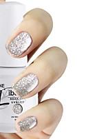 LIBEINE 1pc Soak Off 15 ML UV Gel Nail Polish Color Gel Polish 010# Dazzle White