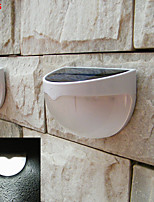 4pcs HRY® 1.2W Light-control Solar Fence Lamp Solar Lights
