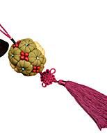 Chine broderie à la main pendentif - or et de jade de remplir la salle (vert)