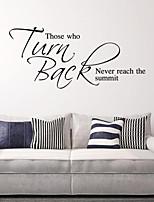 parede adesivos de parede estilo decalques voltar palavras inglesas&cita parede adesivos pvc