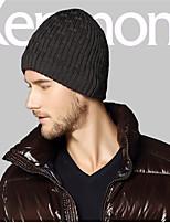 Kenmont Winter Men Male Outdoor Knitted Cap Fashion Woolen Korean Cloche Hat 1596