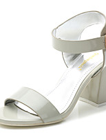 Women's Shoes  Chunky Heel Wedges/Heels/Platform/Comfort/Open Toe Sandals Casual Silver/Gray
