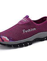 Scarpe Donna - Sneakers alla moda - Casual - Comoda - Piatto - Tulle - Rosa / Viola / Blu scuro