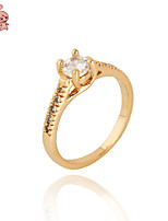 KuNiu Women's High Quality Classic 18K Gold Plated Rings J0015