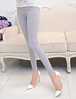 Women Cotton Medium Solid Color Legging