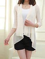 Women's Vintage/Sexy/Beach/Casual/Cute/Party/Work   Long Sleeve Regular Blouse