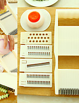 10-Piece Multi Task Veggie Cutter Shredder Fruit Slicer Kitchen Aid (Random Color)