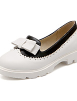 Women's Shoes Faux Low Heel Round Toe/Closed Toe Loafers