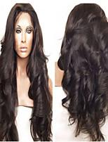 golvende front lace menselijk haar pruiken brazilian virgin hair goedkope pruiken 130% dichtheid