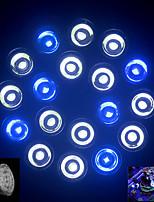 MORSEN® E27 18W 1080-1440LM 12White and 6Blue LED Aquarium Light Fishbowl Diving Lights(85-265V)