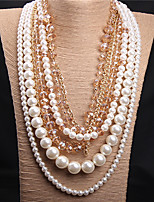 Party/Casual Gemstone & Crystal/Pearl Layered