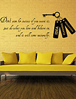 Wall Stickers Wall Decals Style Don't English Words & Quotes PVC Wall Stickers