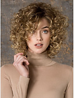 Popular Cosplay Wig Party Wig Blonde Cartoon Wig Super Short Curly Animated Synthetic Hair Wigs