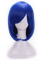 Anime Wigs Cos Wig Blue Hair MSN Or Lend A Shave Hair