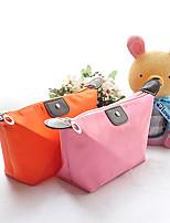 Women Dumpling Shape Lovely Cosmetic Bags Storage Travelling Handbag Candy Color(Random Color)